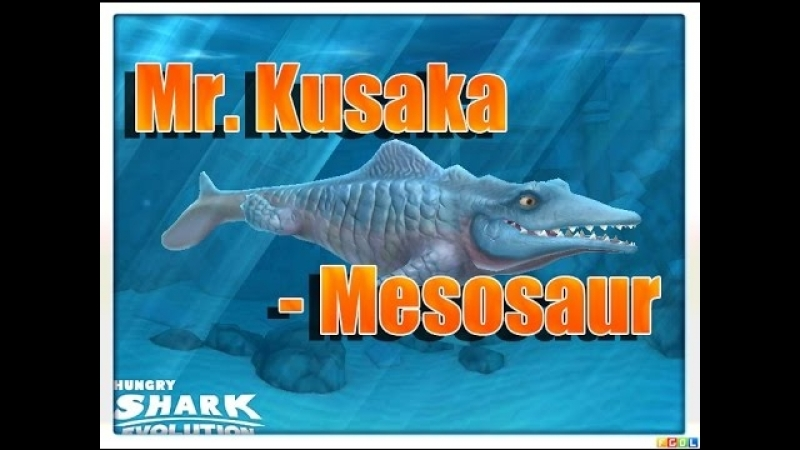 MOSASAURUS Hungry Shark Evolution Mr Kusaka Mesosaur