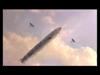 Гибель империи (2005). Авианалет на артиллерийские позиции русских
