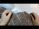 Женская шапка в технике Brioche Stitch -- Womens hats knitting