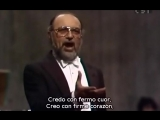 Renato Bruson - Credo in un Dio crudel de Otelo de Verdi (subt