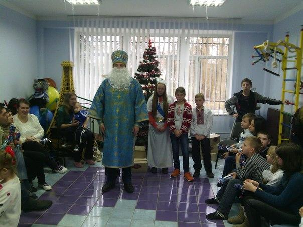 """Калуські УМХівці завітали  в центр """"Добродія Калуська"""""""