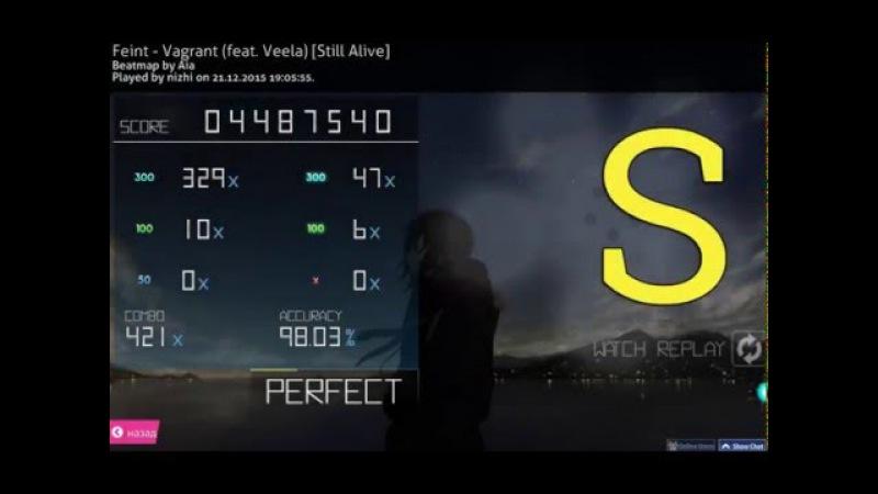 Osu! - Feint - Vagrant (feat. Veela) [Still Alive] (nizhi)