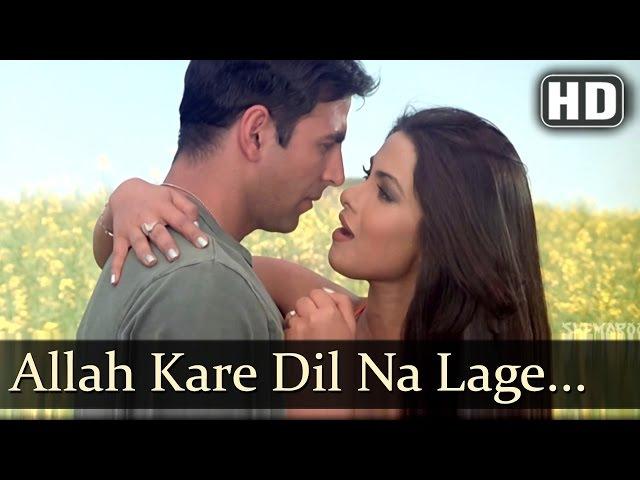 Allah Kare Dil Na Lage | Andaaz Songs | Akshay Kumar | Priyanka Chopra | Sonu Nigam | Filmigaane