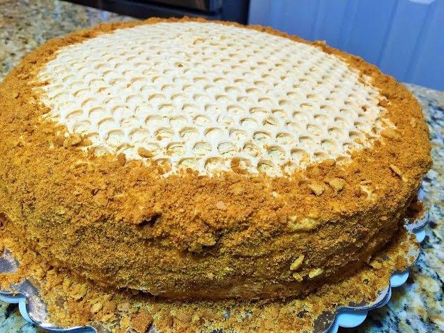 КРЕМ для МЕДОВИКА. Сметанно -карамельный, самый вкусный! Honey Cake Cream.
