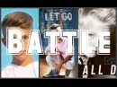 MattyB VS Johnny Orlando VS Carson Lueders (Original songs BATTLE ) Blue skies / Let Go / All Day