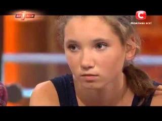 Украинский канал СТБ транслирует это на всю Украину