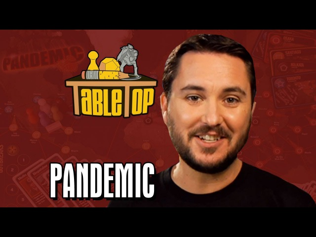 Pandemic Morgan Webb, Ed Brubaker, and Robert Gifford Join Wil on TableTop, episode 14
