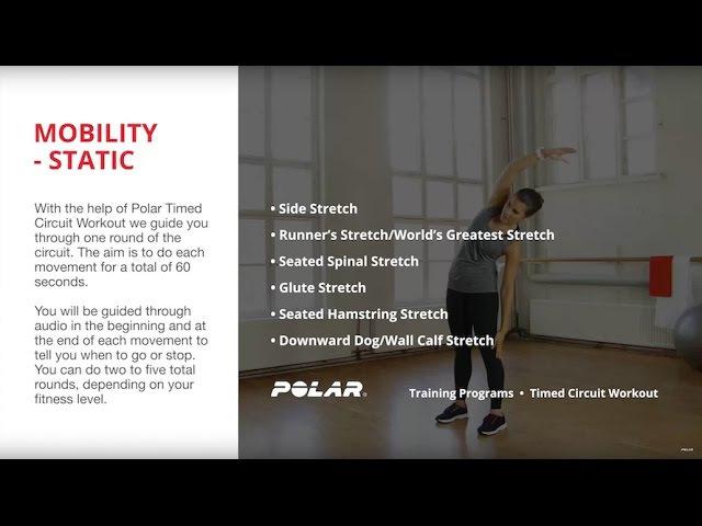 Polar Running Program | Mobility Static