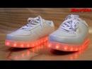 Обзор кроссовок с подсветкой SprayTikal
