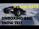 WLtoys A979 ARR Banggood Monstertruck unboxing and snow test