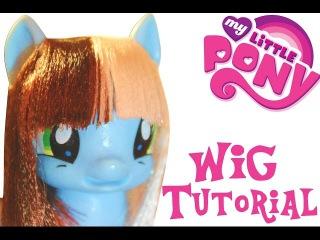 Как сделать парик для поняши (май литл пони) от MariaDikop
