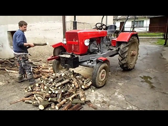 ТОП 5 МЕГАМАШИНЫ TOP 5 MOST Woodcutter Lifehacks: Splitter, Saw and Uprooting Device