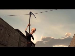 Смерть и Ковбой  - Прикольный мультик  Крутые мультики