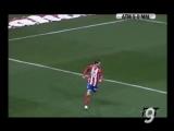 Gol de Torres (2-0) Atlético de Madrid 5 - Málaga 0 (Primera división). 25-02-06