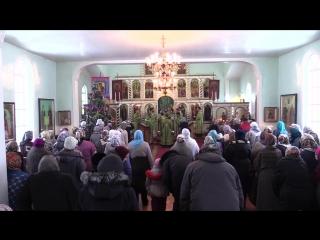 15.01.16 Престольный праздник храма в с. Новочеремшанское
