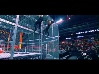 WWE Seth Rollins Vs Dean Ambrose Hell In A Cell 2014 Highlights [HD]