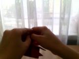 простое оригами как сделать сердечко лёгким способом