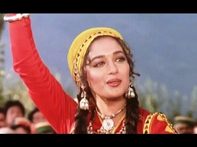 Is Mele Mein Log Aate Hain Full HD Song | Sahibaan | Rishi Kapoor, Madhuri Dixit