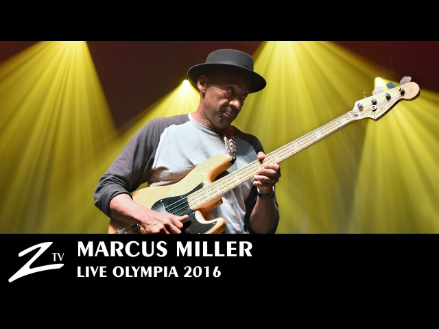 Marcus Miller Tutu Blast Olympia 2016 LIVE HD