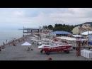 ЛЕТО наступило Погода в Лазаревском 1 июня 2016, пляж Лазаревское взморье