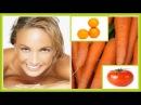 Bronceado Natural con Zanahoria y Tomate