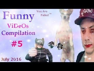 Funny Videos Compilation №5 - Видео Подборка Приколов ( July 2016)