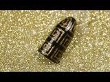 Новогодний маникюр гель-лаком. Дизайн ногтей золотые узоры