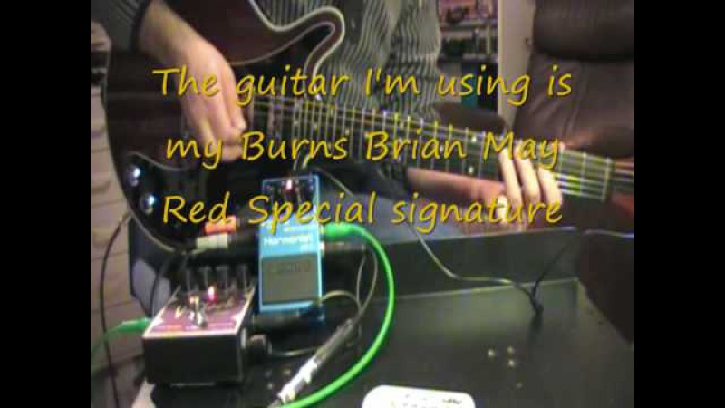 BOSS Harmonist HR-2 harmonizer pedal demo