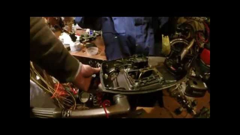 Лодочный мотор Tohatsu 5 л с Установка на дейдвуд 5ч