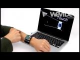 Новая технология превращает кожу руки в тачскрин.