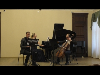 Carl Frühling Trio a-moll für Klarinette, Cello und Klavier \ 3 Andante