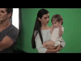 Tuba Büyüküstün Molfix Diapers Reklam Kamera Arkası