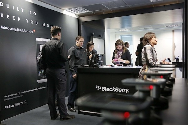 BlackBerry Showroom