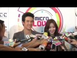 [Interview] Eunjung (T-ARA) James Ma - Microlove __ สัมภาษณ์ อึนจอง กับ เจมส์มาร์