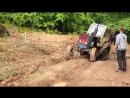 пяні діти  на іршавщині в стані алкогольного спяніння перевернули трактор Беларус ЮМЗ М6