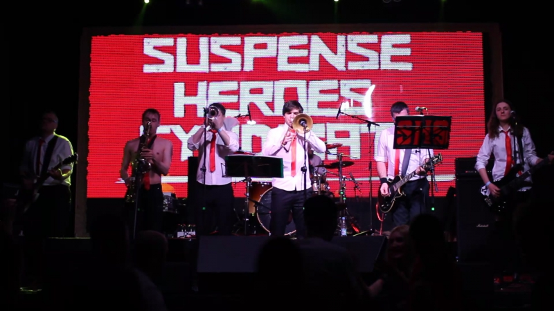 SUSPENSE HEROES SYNDICATE Tonigth