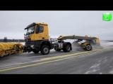 Самая большая подметально-уборочная машина в мире