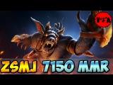 Dota 2 - ZSMJ 7150 MMR Plays Ursa vol #1 - Ranked Match