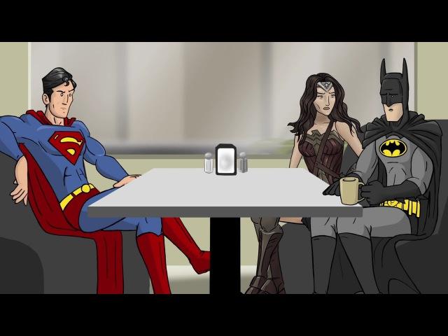 Как следовало закончить фильм Бэтмен против Супермена: На заре справедливости (Русская озвучка)