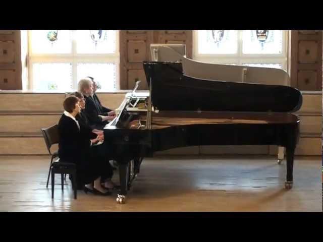 William Gillock Champagne Toccata for 2 pianos, 8 hands