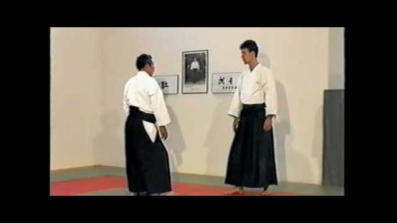 Morihiro Saito Sensei Shomen Uchi Kata Dori