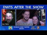 Joey Fatone - Val Chmerkovskiy and Jenna Johnson after DWTS