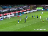 Интер - Кьево 1:0. Обзор матча. Италия. Серия А 2015/16. 23 тур.