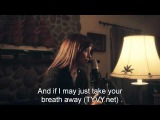SWEATER WEATHER (with lyrics) Max & Alyson Stoner Cover (English Subtitles) TYVY net