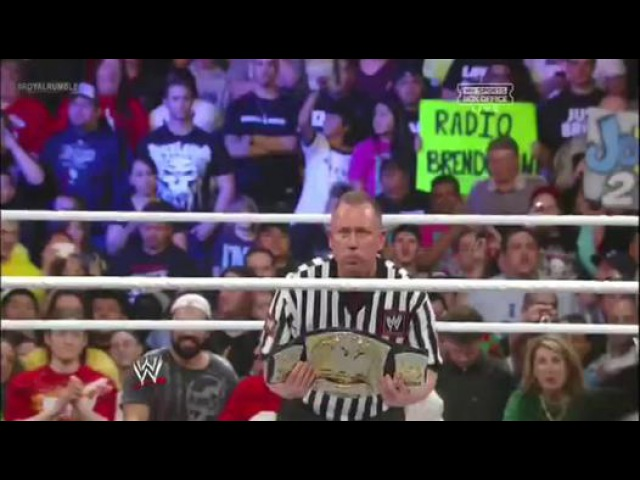 Royal Rumble 2013 - CM Punk vs. The Rock - WWE Championship