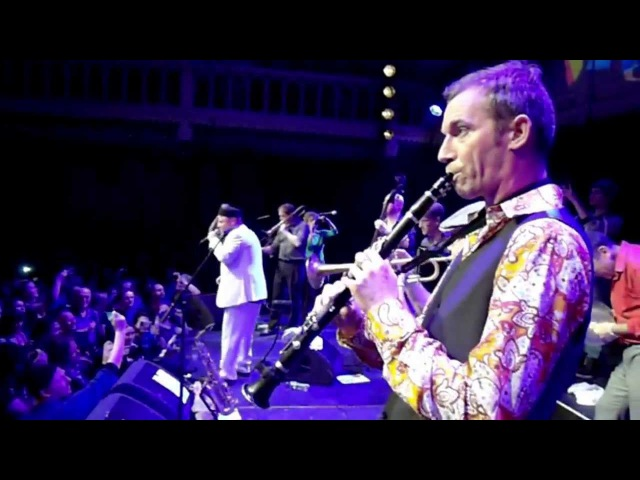 Amsterdam Klezmer Band Op een Goppe live in Paradiso, Amsterdam shot by 27 mobile phones