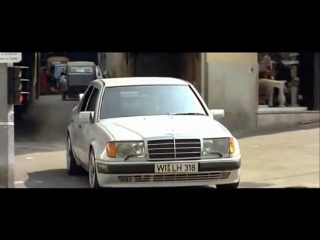Mercedes W124 500E scenes from Taxi movie