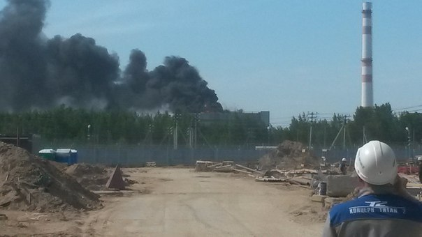 ВЛенинградской области полыхает  НИИ«Росатома»