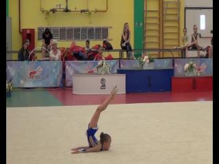 Савина Марина, 3 юн.разряд,Кубок Надежд по художественной гимнастике, г.Краснодар, 2016г.