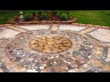 Мир садовых дачных дорожек с мозаикой Идеи для дачи и сада 2015
